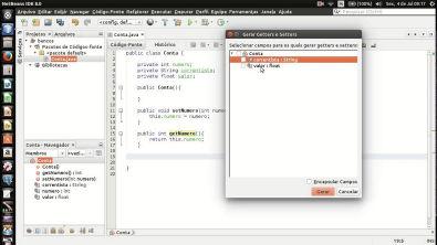 Programação Orientada a Objetos (Parte 1): classes, construtores e métodos de acesso.