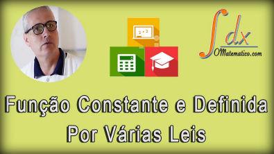 Grings - Função constante e função definida por várias leis aula 8
