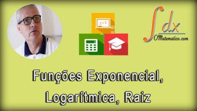 Grings - Funções exponencial, Logarítmica, raiz e translação de funções aula 9