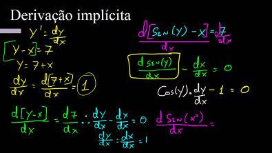 Derivação implicita