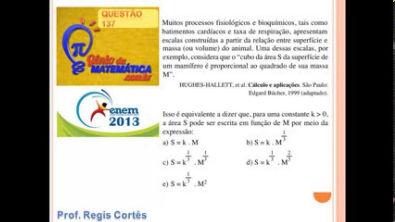 Questão 137 - Prova comentada Enem 2013