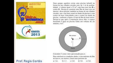 Questão 145 Prova comentada ENEM 2013