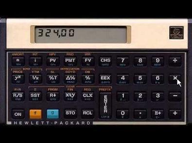 CALCULADORA FINANCEIRA HP 12C ( video aula )