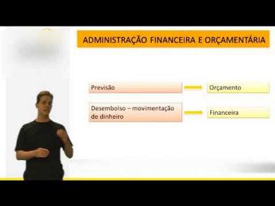 Administração Financeira e Orçamentária - Introdução - Vídeo Aula Concurso 2014