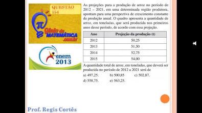 Questão 154 Prova comentada ENEM 2013