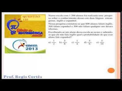 Questão 155 Prova comentada ENEM 2013