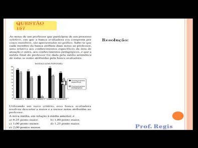 Questão 157 Prova comentada ENEM 2013