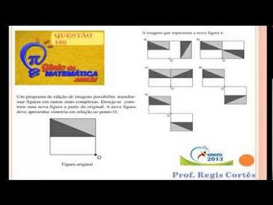 Questão 160 Prova comentada ENEM 2013