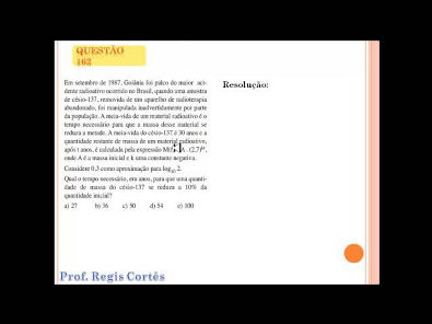 Questão 162 Prova comentada ENEM 2013