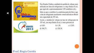 Questão 163  Prova comentada ENEM 2013