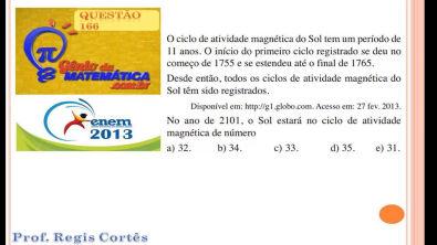 Questão 166 Prova comentada ENEM 2013