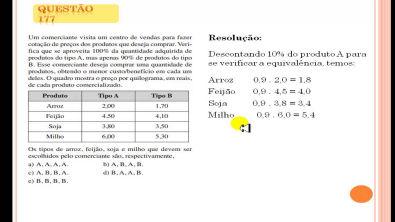 Questão 177 Prova comentada ENEM 2013