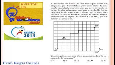 Questão 180 Prova comentada ENEM 2013