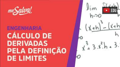 Me Salva! DER03 - Calculando derivadas pela definição de limites - Exemplo 1