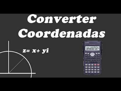 Converter coordenada retangular para polar [Casio fx-82ms]