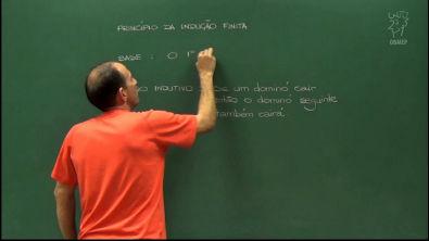 Indução Matemática - Aula 1 - Princípio de Indução Matemática