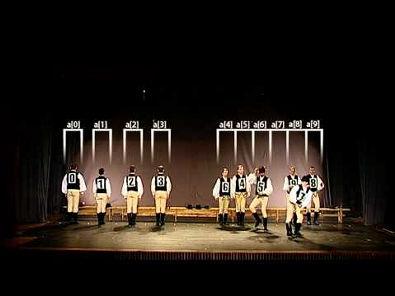 Ordenação Quick Sort (Folk Dance)
