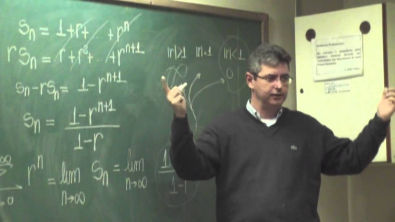 Curso UFMG - Cálculo II - Aula 2 - Séries Geométrica e Harmônica e Teste Do Termo Geral