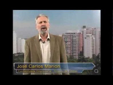 José Carlos Marion - Grupos de Contas do Balanço Patrimonial (Capítulo 3)