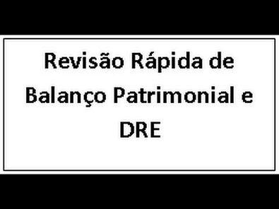 Revisão de Balanço Patrimonial e DRE