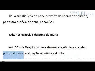 Código Penal - Parte Geral - arts. 1º ao 120