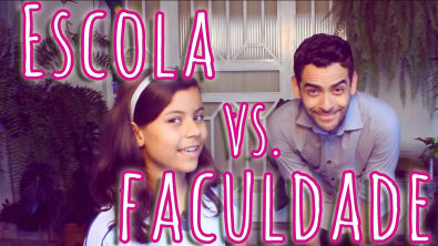 ESCOLA vs. FACULDADE  (feat. Aninha)