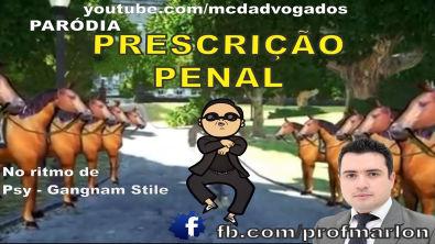 Prescrição Penal no ritmo Gangnam Style - Musica para Fixação