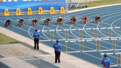 100m c/ Barreiras Feminino (Final)- Brasileiro Interclubes Juvenil-2014