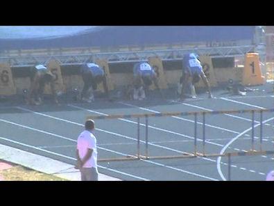 Brasileiro Menores 110 com barreiras