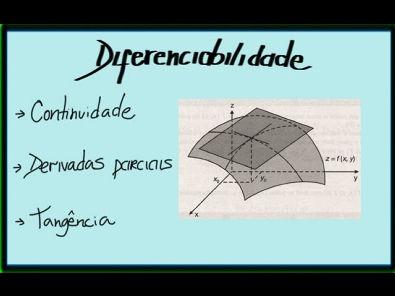 Cálculo II - Diferenciabilidade