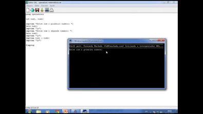 Aula 3.1 de Algoritimo Editor UAL - Operadores