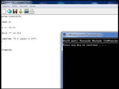 Aula 4.1 Algoritimos - Editor UAL