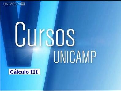 Cursos Unicamp - Cálculo III - Introdução - Parte 1