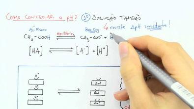 Bioquímica (Introdução 5) - Solução tampão, Equilíbrio Ácido-Básico 1