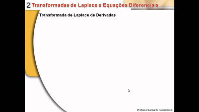 2. Transformadas de Laplace e Equações Diferenciais - Curso de Sistemas Controle