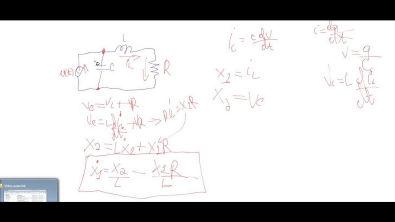 Modelagem de circuito RLC básico.