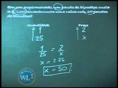 Matemática Instrumental - Regra de Três Simples - Videoaula #02