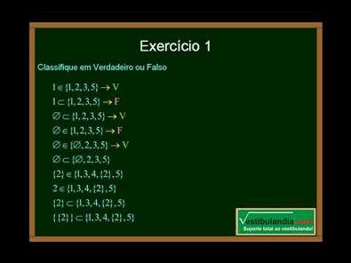 Matemática - Aula 1 - Conjuntos - Parte 2