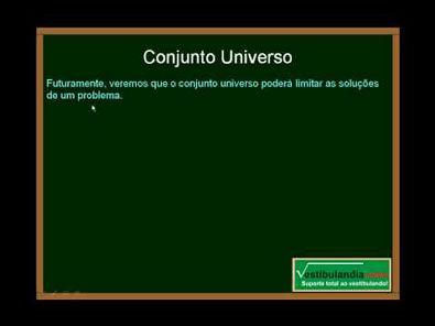 Matemática - Aula 1 - Conjuntos - Parte 3