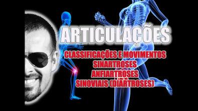 Vídeo Aula 035 - Classificação e movimentos das articulações: Sinartroses, Anfiartroses e Sinoviais