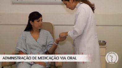 Administração de Medicação via Oral