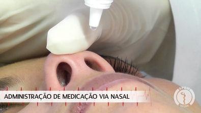Administração de Medicação via Nasal