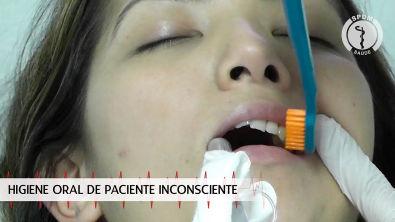 Higiene Oral do Paciente Inconsciente