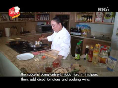Myung Lee's Cooking Show With Sempio - Ep 09 / Sauteed Sea Cucumber
