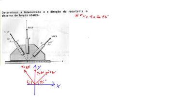 AULA 8 - força resultante - diagrama de corpo livre - estática