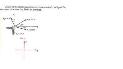 AULA 10 - força resultante - diagrama de corpo livre - estática