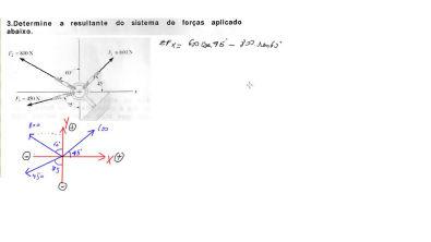 AULA 11 - Força resultante - diagrama de corpo livre - estática