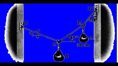 AULA 25 - equilíbrio estático - diagrama de corpo livre - estática