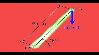 AULA 31 - A - momento de uma força ou torque - estática - mecânica geral