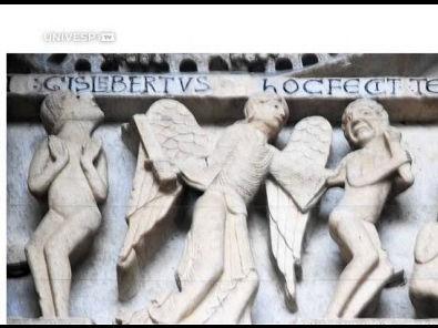 História da arte II - Pgm 24 - Arte românica: arquitetura e relevo escultórico - parte 3